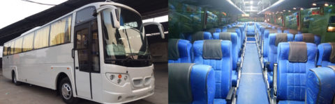 SEATER BUS INSIDE